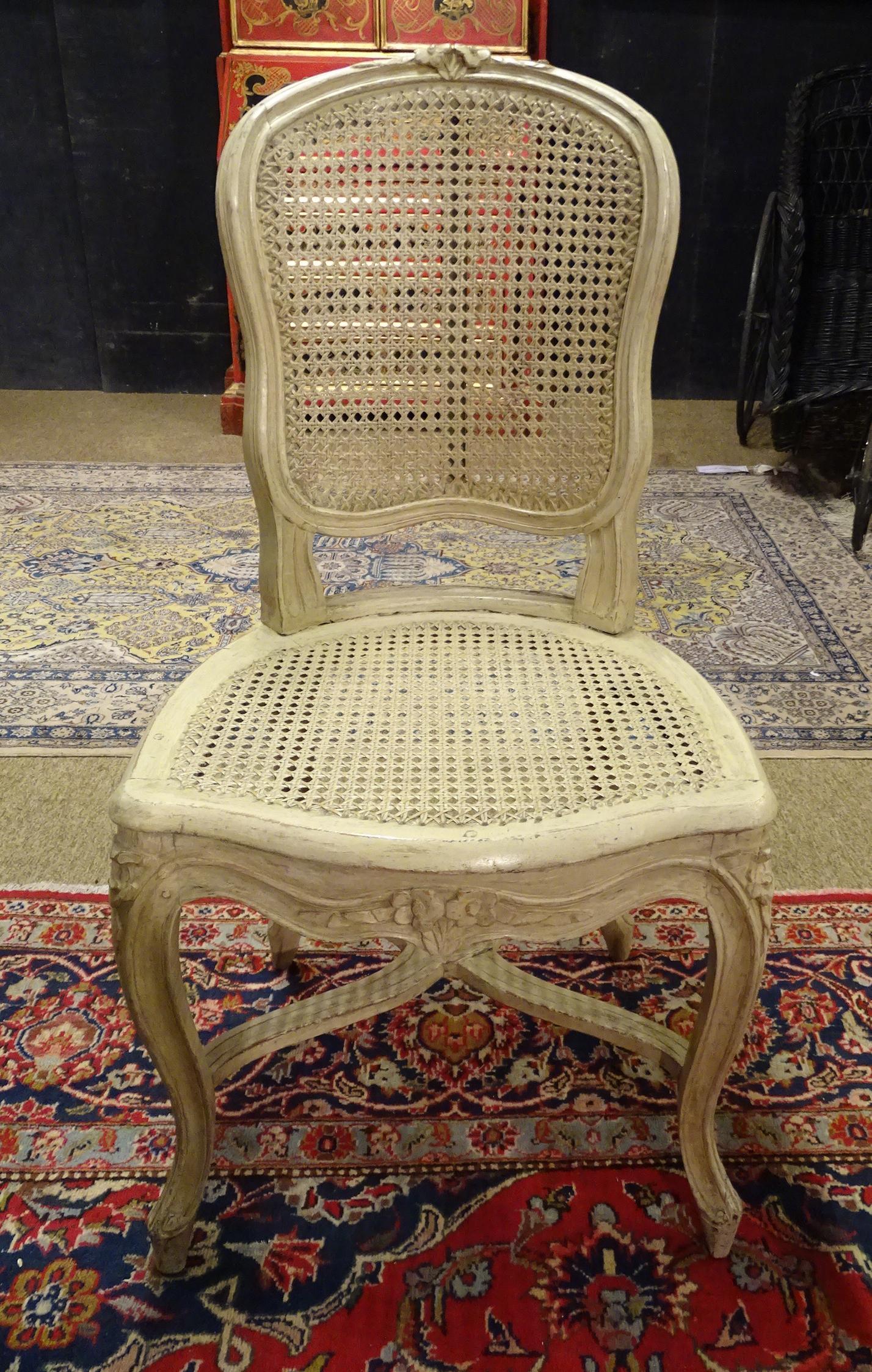 meuble cabriolet chaise louis xvi chaise vannerie louis xv 18es. Black Bedroom Furniture Sets. Home Design Ideas