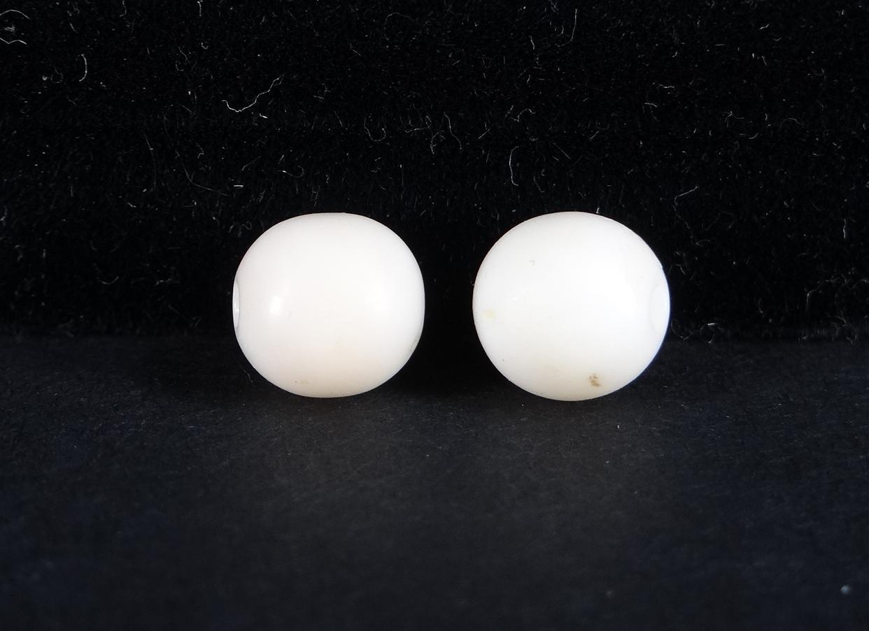 bijou collier de perles de corail blanc. Black Bedroom Furniture Sets. Home Design Ideas